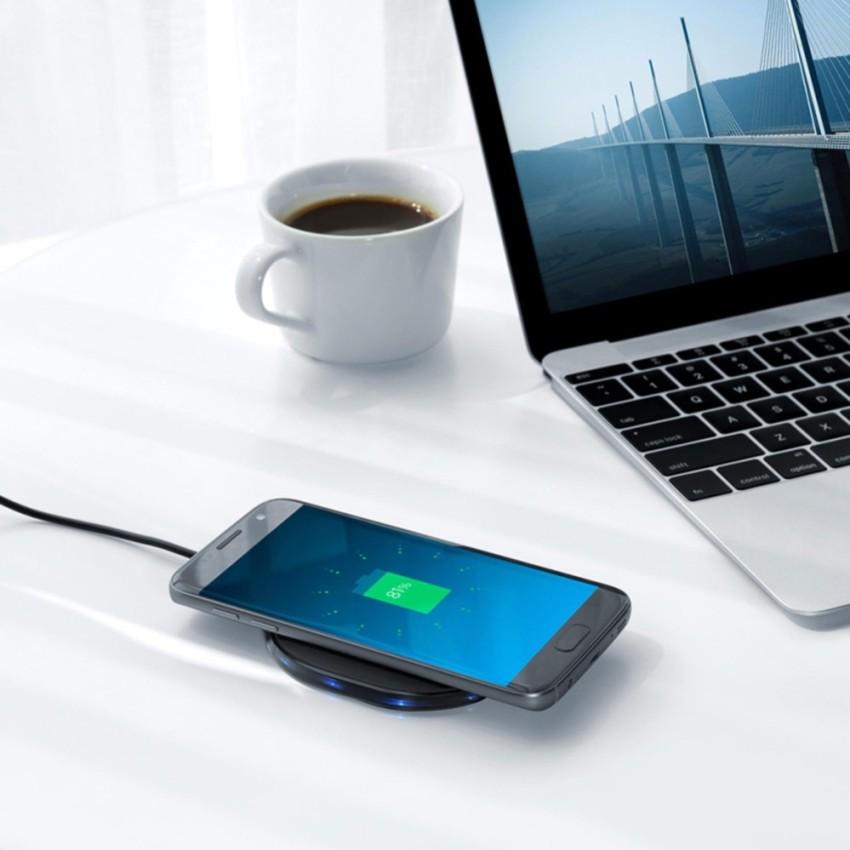 sac khong day cho iphone 8 iphone x anker powerport qi 10w. Black Bedroom Furniture Sets. Home Design Ideas
