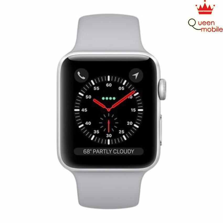 Đồng hồ Apple Watch Series 3 42mm Silver Aluminum Case with Fog Sport Band (GPS) MQL02
