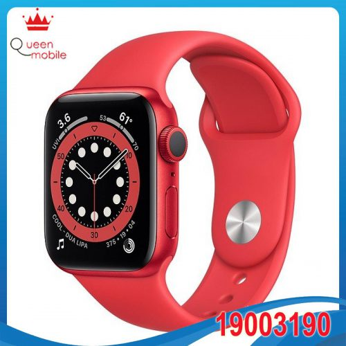 Đồng hồ thông minh Apple Watch Series 6 GPS 44mm M00M3 Red Aluminium Case with PRODUCT (RED) Sport Band