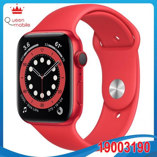 Đồng hồ thông minh Apple Watch Series 6 GPS + Cellular 40mm M06R3 RED Aluminium Case with PRODUCT(RED) Sport Band